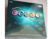 Board Game : Knowing me, knowing you 😃🤔😳😉 Fantastic board game for age 12 plus