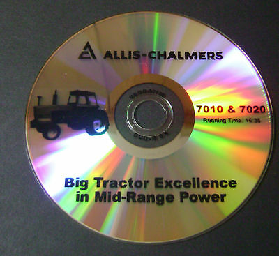 New Farm Tractor Sales Dvd For Allis Chalmers 7010 7020 Ac