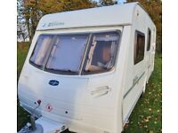 4 berth Lunar Zenith with full awning and caravan cover.
