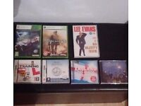 XBOX GAMES/DS GAMES/DVD/CDS