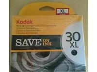 Kodak 30 xl black ink new