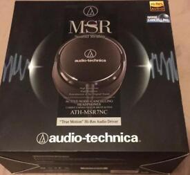 Audio Technica Headphones active noise cancelling MSR7NC