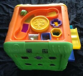 Beanstalk Large Multi Activity Cube
