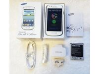 Samsung Galaxy S3 Mini 8GB SIM FREE UNLOCKED To All Networks in a Box with all the Accessories
