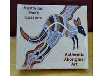 Australian Coasters (6) Aboriginal Art