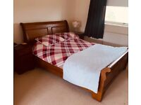 Indian Mahogany - Hand Made King Size Bed