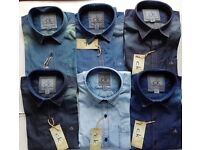 CK CALVIN KLEIN SILKY DENIM CASUAL SHIRTS Wholesale Only. Paypal Accepted