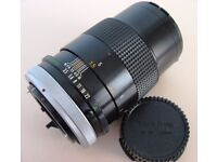 CANON FD f3.5 135mm PORTRAIT/TELEPHOTO LENS in VERY GOOD CONDITION. SEE TEST PHOTOS. £29 ONO