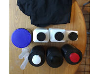 Film development kit including new/unopened B&W chemicals