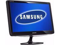 Samsung B2430L/24 inch Widescreen LCD 1080p DVI Tilt Monitor - Black
