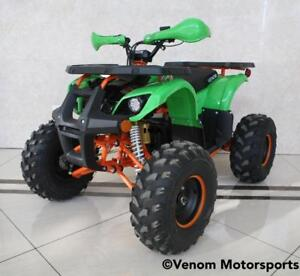 TEEN/ADULT ELECTRIC ATV 1200W VENOM BRUSHLESS 48V - FREE SHIPPING NATIONWIDE!! E-KODIAK QUAD VTT + WARRANTY + LED LIGHTS