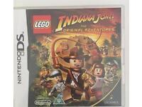 "Nintendo DS ""Lego-Indiana Jones- the original adventure"" game"