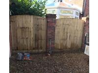 🐛 Various Styles Of High Quality Wooden Garden Fence Panels < New