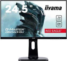 "iiyama G-Master GB2560HSU-B1 24.5"", 144Hz, 1ms, Full HD 1920x1080, Speakers"