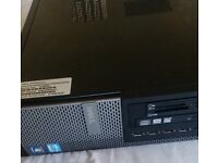 Dell Optiplex 790 desktop case with PSU and DVD R/W and card reader