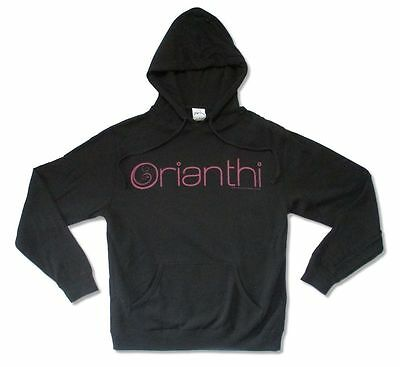 Orianthi Purple Logos Black Pull Over Sweatshirt Hoodie New Official ()
