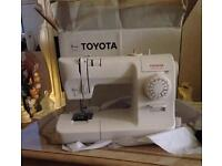 Toyota sewing machine , never used , in good condition , ready for you to enjoy