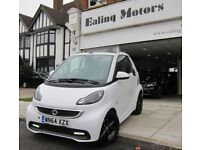 2014 SMART FORTWO GRANDSTYLE,CONVERTIBLE,AUTO,PETROL,ZERO TAX,SATNAV,LEATHER,LOW MILES,AIRCON,CD,DVD
