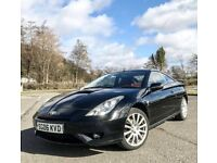 Toyota Celica 1.8 VVTi red - sports coupe, 2006, 140bhp, lovely example, MOT May 2018, 5 months tax