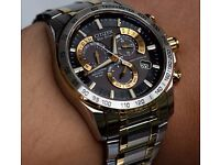 Watch : Citizen Perpetual Chrono AT-10, Not used and under warranty