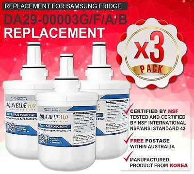 3 x SAMSUNG QUALITY REPLACEMENT SUITS DA29-00003G FRIDGE WAT