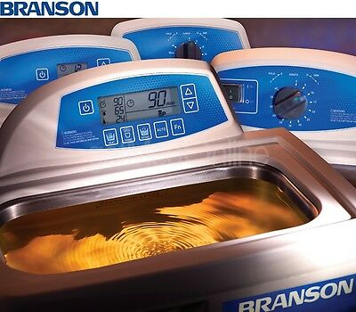 Branson M1800 0.5 Gal. Benchtop Ultrasonic Cleaner Wmech.timer Cpx-952-116r