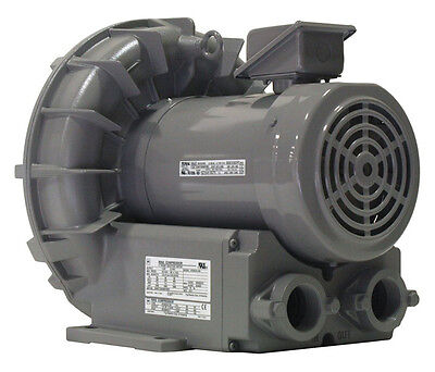 Vfz501a-7w Fuji Regenerative Blower 2.7 Hp 208-230460 Volts