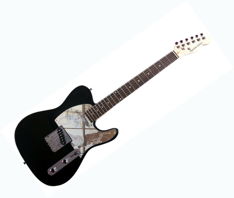 Billy Joel Autographed Glass Houses Album LP Guitar RACC TS AFTAL UACC RD