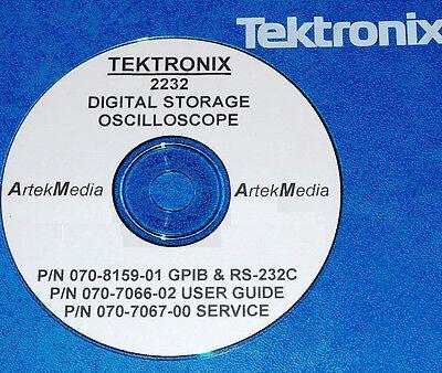 Tektronix 2232 Service And Operations Manuals 3 Vol.