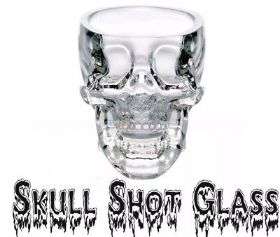 NEW Crystal Skull Head Vodka Whiskey Shot Glass Party Drinking Cup