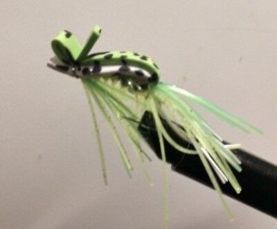 Leopard 3//0 NEW FREE SHIPPING Riendeau/'s Georgia Bullfrawg Bass Fly By Rainy/'s
