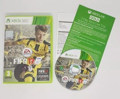 Fifa 17 - Standard Edition (Xbox 360) Fast & Free Delivery Quick Dispatch