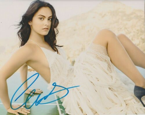 Camila Mendes Sexy Riverdale Autographed Signed 8x10 Photo COA 2019-6