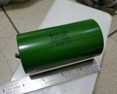 Pio Hybrid Capacitors K75-10 250v 10uf 1pc
