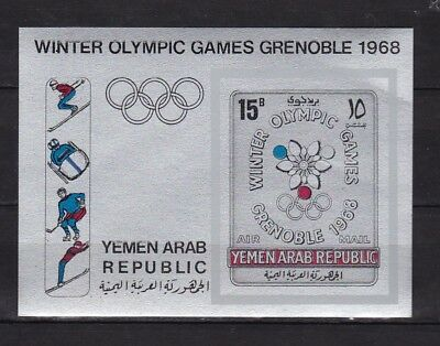Yemen : Winter Olympic Games Grenoble 1968 ( MNH )