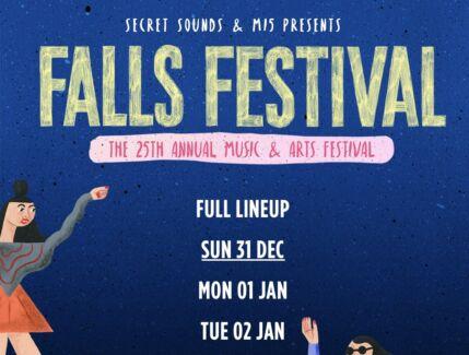 Wanting x2 Falls Festival tickets for Byron Bay 31/12/17