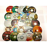 WHOLESALE LOT OF 10 USED DVD'S ASSORTED MOVIES BULK MIXED TITLES- FREE SHIPPING