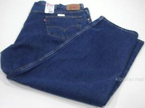 NWT~Levi's Big and Tall 550 Relaxed Fit Men's Blue Jeans 48 x 32 Tapered Leg
