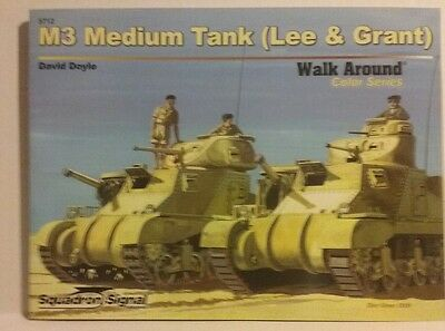 Squadron Signal publications,  M3 Medium tank (Lee & Grant), used for sale  Shipping to Canada
