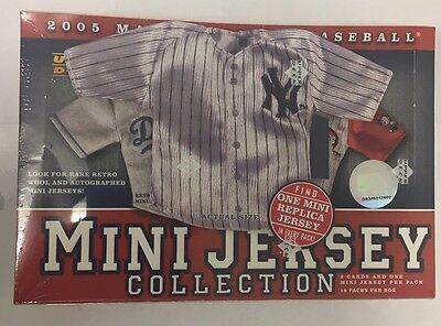 2005 Upper Deck Mini Jersey Factory Sealed Baseball Hobby Box