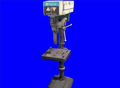 Very Nice Rockwell Delta 20 Drill Press Model 70-6x0 3 Phase 208-230460 Volts