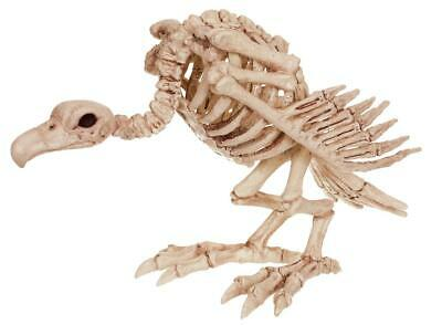 LIFE SIZE VULTURE SKELETON BONES HAUNTED HOUSE Outdoor Halloween Decor Prop YARD