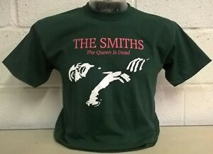 The Smiths - Queen Is Dead - 'Bottle Green' T-Shirt