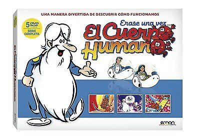 ERASE UNA VEZ EL CUERPO HUMANO SERIE COMPLETA DVD NUEVO ( SIN...