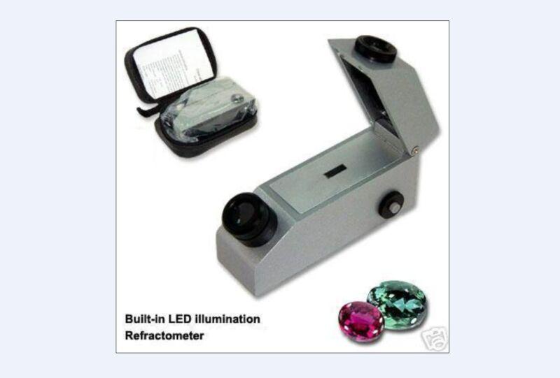 Gemological Gemstone Gem Refractometer Built-In Light for GIA testing