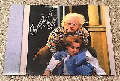 Christopher Lloyd Signed Autograph Back To The Future 11X14 Photo W Exact Proof