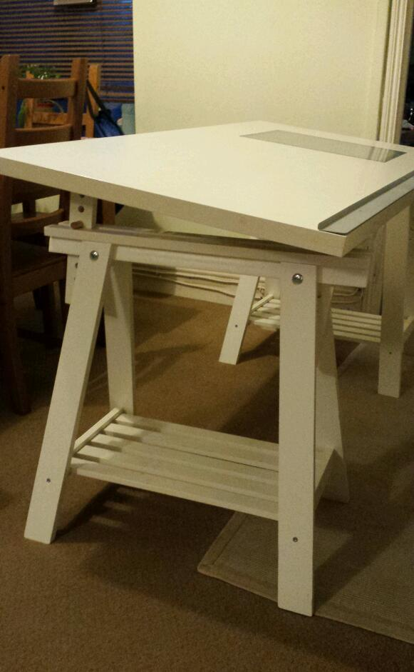 Wonderful Desk/ Drawing Table (Ikea Vika Blecket)