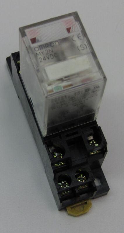 Omron MY2N 24VDC Relay w/ Base Socket