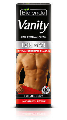8,99EUR/100ml BIELENDA Vanity MEN HERREN Haarentfernungscreme für Körper 100ml