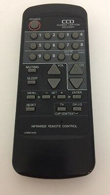 Closed Caption Decoder CCD Infrared Remote Control 076R074150 Closed-caption-decoder